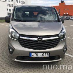 8+1 vietų Opel Vivaro nuoma, VipRent