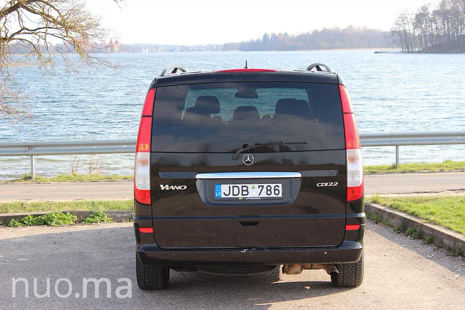 Mikroautobusas Mercedes Viano nuomai, Noriu Važiuoti