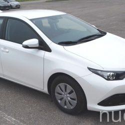 Toyota Auris nuomai, RentCar