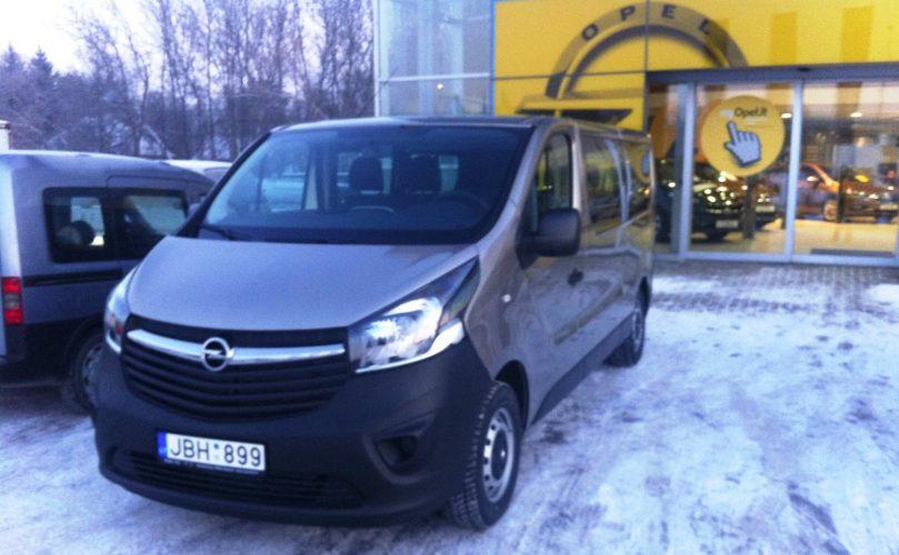 Opel Vivaro nuoma, Maibus