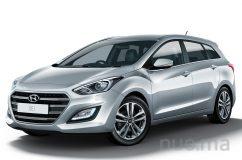 Hyundai i30 cw universalo nuoma, TopRent