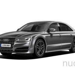 Prailgintas automobilis Audi A8 L nuomai, AutoBus