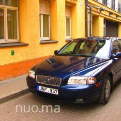 Volvo S80 nuomai, Bebro Nuoma