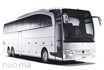 Mercedes-Benz Travego autobusas nuomai, JND