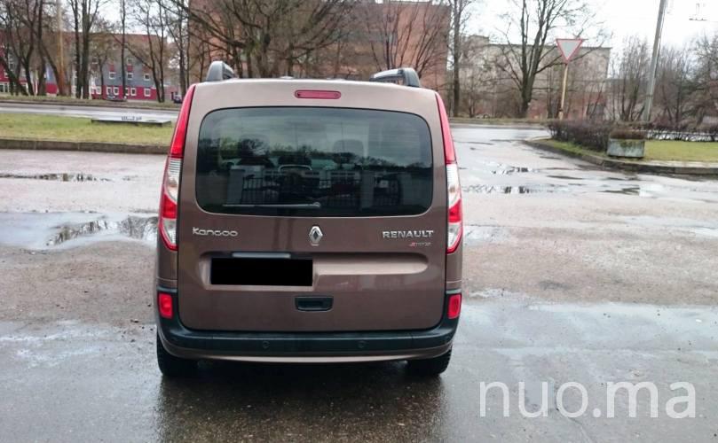 Renault Kangoo nuomai, Mikrobuso nuoma