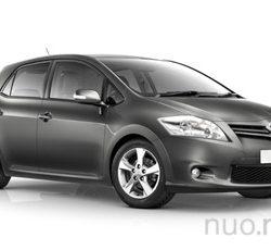 Toyota Auris nuomai, JND