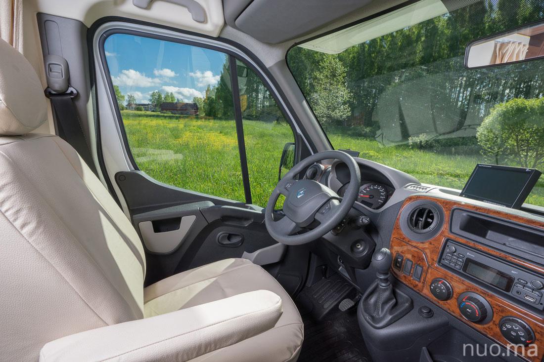 Renault Dynamic 27 kemperio nuoma
