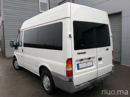Ford Transit mikroautobuso nuoma