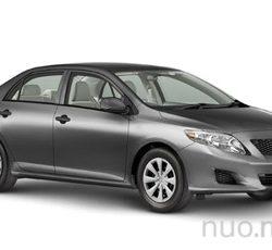 Toyota Corolla nuoma, JND