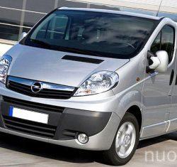 Opel Vivaro nuoma, AutoBanga