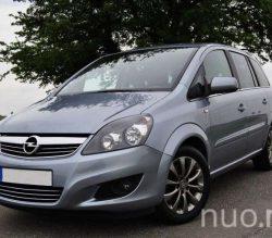 Opel Zafira vienatūris nuomai, Autonuoma123