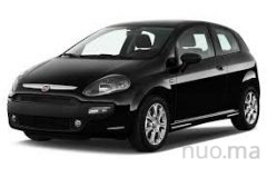 Fiat Punto nuomai, TopRent