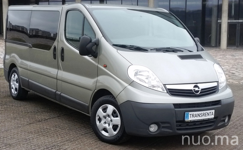 Opel Vivaro nuoma, Transrenta