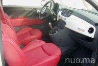 Fiat 500 kabrioletas nuomai, Autonuoma123