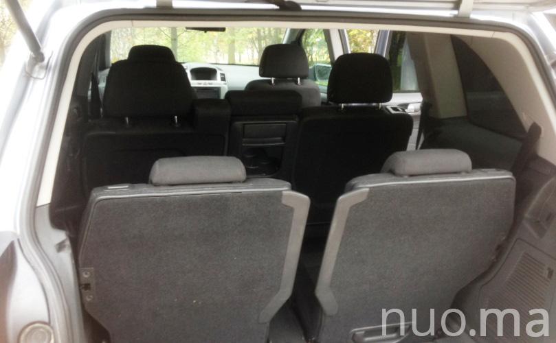 Opel Zafira nuomai, Family Car Rental