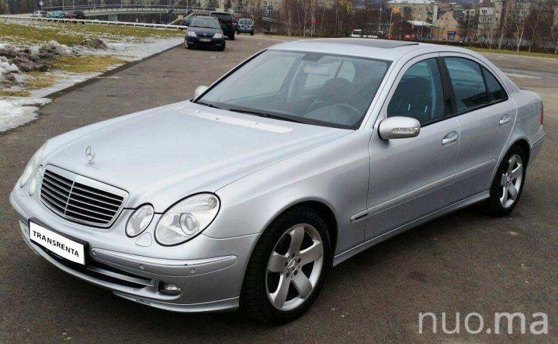 E klasės Mercedes nuomai, Transrenta