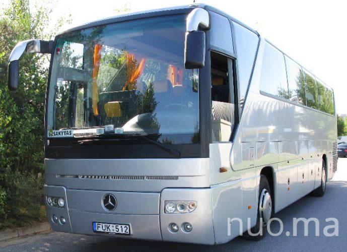 """Mercedes turistinis autobusas nuomai. UAB """"Kertušas"""""""